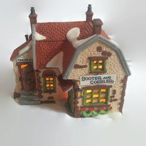 1988 Department 56 Booter Cobbler Tannery